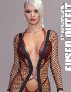dForce Fused Outfit for Genesis 8 Females