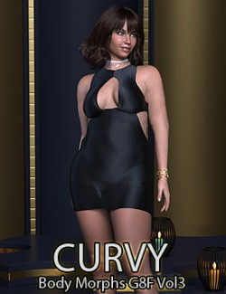 Curvy Body Morphs for G8F Vol 3