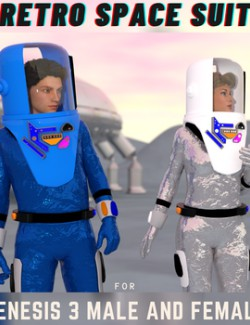 Genesis 3 Retro Spacesuit