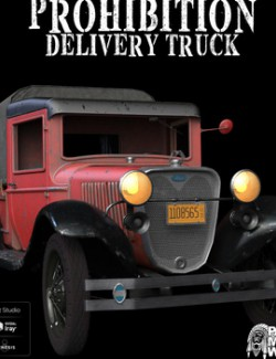 Prohibition Delivery Truck for DAZ Studio