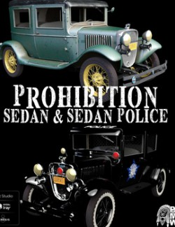 Prohibition Sedan for DAZ Studio