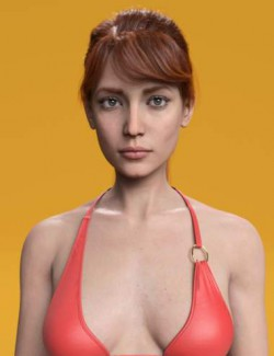 Mary HD and Expression for Genesis 8 Female