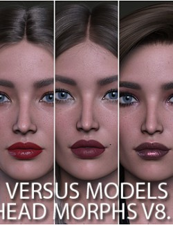 VERSUS MODELS- Head Morphs for Victoria 8.1 Vol 1