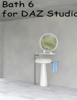 Bath 6 for DAZ Studio
