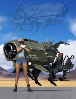 Sci-Fi Jumper Vehicle