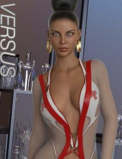 VERSUS - dForce Fused Outfit for Genesis 8 Females