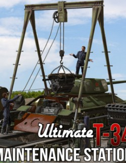 Ultimate T-34: Maintenance Station