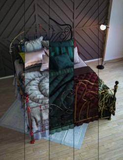 Antique Bed Textures