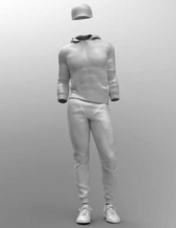 Campus Casual Outfit for Genesis 8.1 Males
