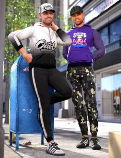 Campus Casual Outfit Textures