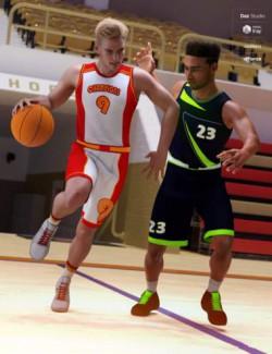 dForce Basketball Uniform Textures
