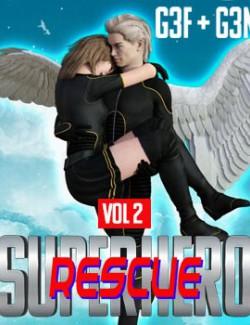 SuperHero Rescue for G3F & G3M Volume 2