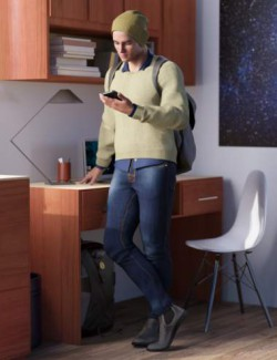 Streetscape Outfit for Genesis 8 and 8.1 Males