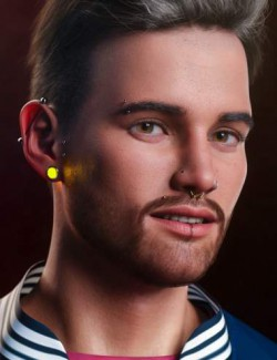 Vario Piercing for Genesis 8.1 Male