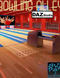 Bowling Alley for Daz Studio