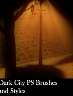 Dark City PS Brushes and Styles