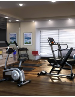 Modern Apartment - Fitness Room