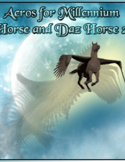 Aeros for Millennium Horse and Daz Horse 2