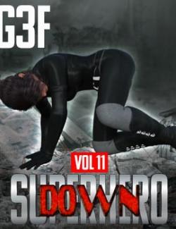 SuperHero Down for G3F Volume 11