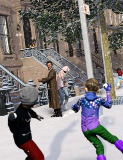 Now-Crowd Billboards - Snowball Fight (Winter Fun IV)