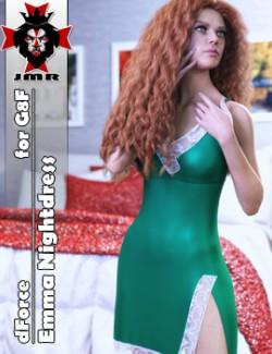 JMR dForce Emma Nightdress for G8F