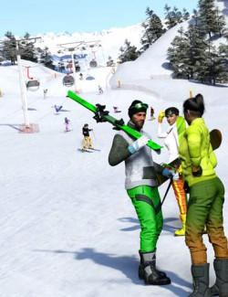 Now-Crowd Billboards - Skiing and Snowboarding (Winter Fun Vol II)