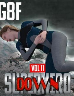 SuperHero Down for G8F Volume 11