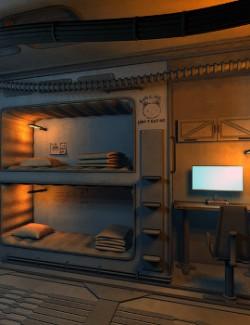 SciFi bedroom kit for DS4