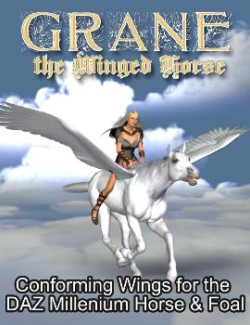 Winged Horse for the Millenium Horse