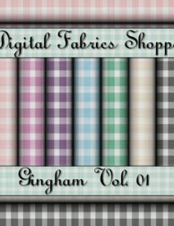 Digital Fabric Shoppe- Gingham Vol 01