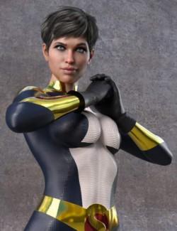 Joanta The Dark Sentinel for Genesis 8 Female