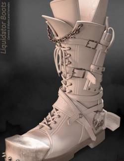 Liquidator Boots for Genesis 8