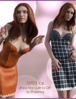 Diverse for dForce Noir Outfit