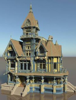 MS21 Carson Mansion for Vue 9+