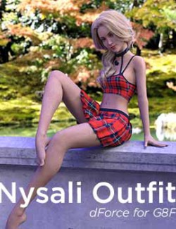 dForce Nysali Outfit for G8F