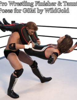 Pro Wrestling Finisher and Taunt Poses for G8M