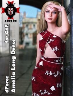 JMR dForce Amelia Long Dress for G8F