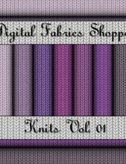 Digital Fabric Shoppe- Knits Vol 01