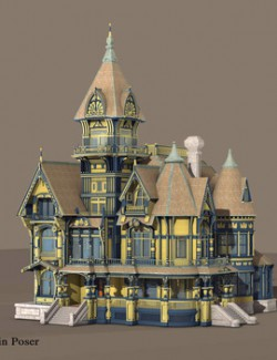 MS21 Carson Mansion Obj