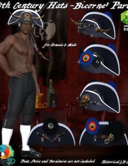 18THC Hats- Bicorne1 Part 2