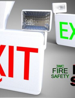 3WC Fire Safety- Exit Sign