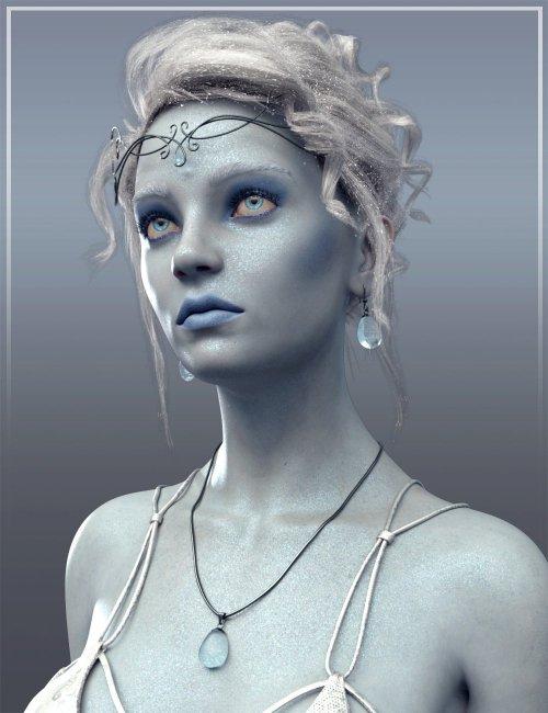 Frost Maiden HD for Genesis 8 Female
