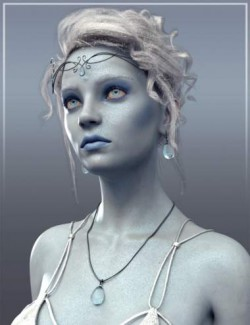 Frost Maiden HD for Genesis 8 Female