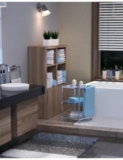 Modern Apartment - Bathroom