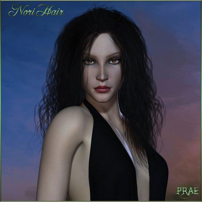 Prae-Nori Hair For La Femme Poser