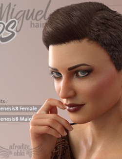 Miguel Hair DS for Genesis 8