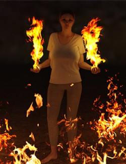Photo Props: Fire Effect Maker
