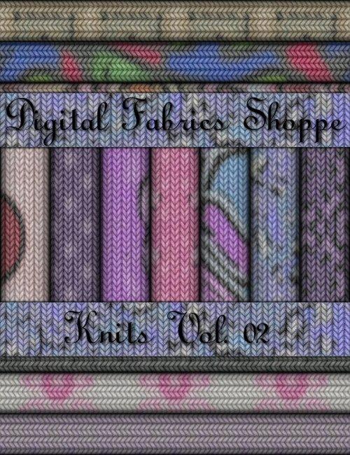Digital Fabric Shoppe - Knits Vol 02