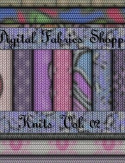 Digital Fabric Shoppe - Knits Vol 02