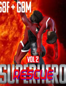 SuperHero Rescue for G8F and G8M Volume 2